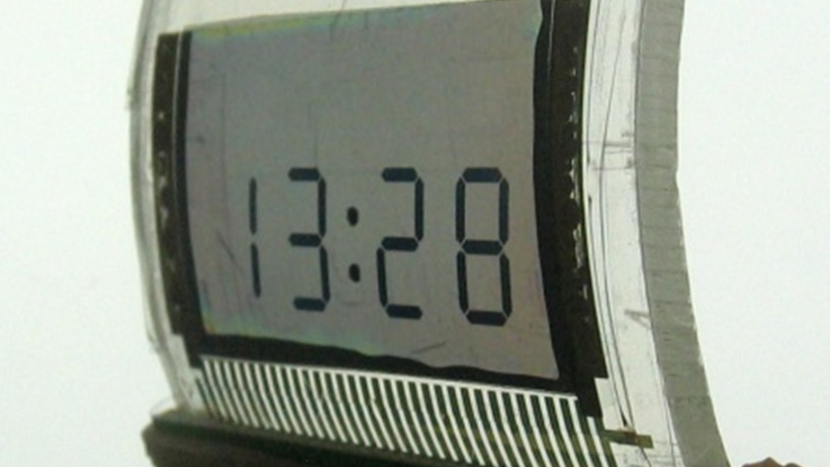 Flexibles LCD mit Carbon-Nanotube Elektroden  (c)