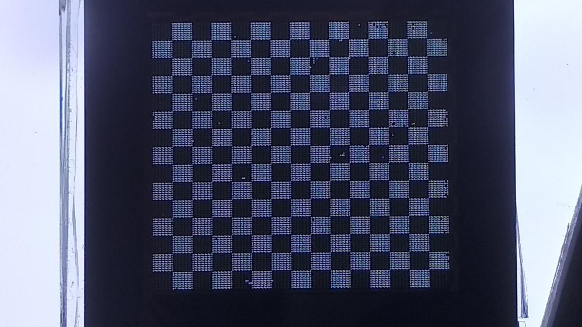 Transmissives MEMS-Display mit IGM Shuttertechnologie